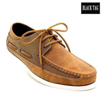 Black Tag Horace Grant 4450 Boat Shoes For Men (Camel) Price Philippines