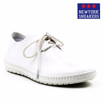 Harga New York Sneakers Luis Low Cut Shoes(WHITE)