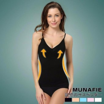 Harga Japan Tech Munafie Slimming Camisole Sando (Black)