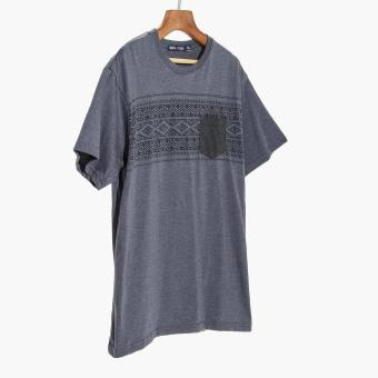 Harga Men's Club Mens Tribal Graphic Tee (Blue)