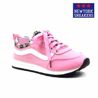 New York Sneakers Sara Rubber Shoes(Pink) Price Philippines