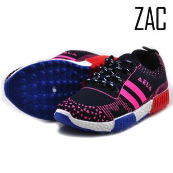 ZAC | Aela 99 Girls Fashion Sneakers Kids Shoes (Pink/Black) Price Philippines
