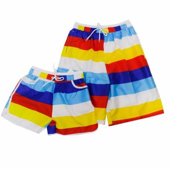 Summer Simple Couple Casual Shorts Beach Wear Swim Wear Price Philippines