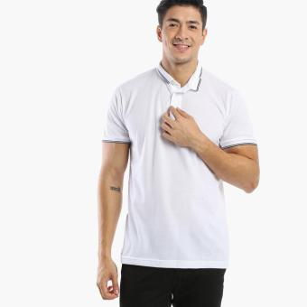 Harga Men's Club Mens Pique Polo Shirt (White)