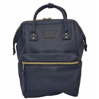 Anello Mini Leather Backpack (Navy) Price Philippines
