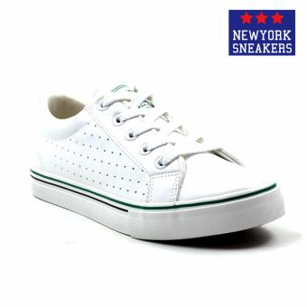 Harga New York Sneakers Alayna Low Cut Shoes(WHITE/GREEN)