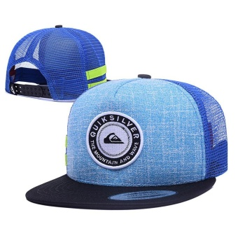 Harga High quality Breathable Snapback Quiksilver Cap Adjustable Sport Hat - intl