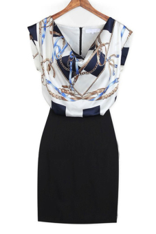 Sunweb O-Neck Patchwork (Dress Blue) Price Philippines