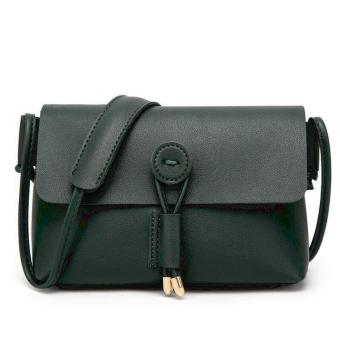 QF Korean Fashion Mini Leather Sling Bag (GREEN) Price Philippines