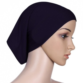 Agapeon Muslim Hijab Inner Cap Mercerized Cotton Black Price Philippines