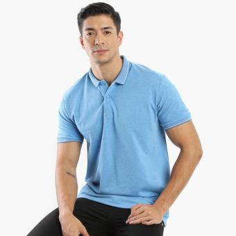 Harga Men's Club Mens Pique Polo Shirt (Blue)