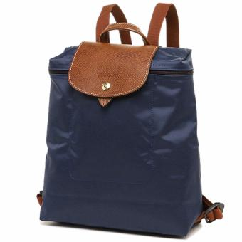 Harga LC Le pliage backpack Navy blue Longchamp