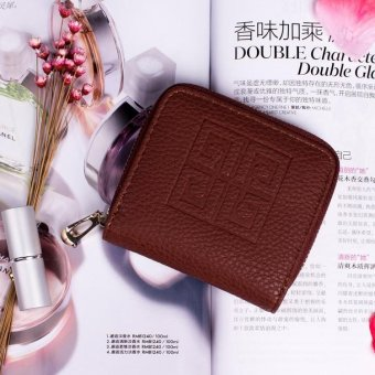 Harga 2017 Korean fashion mini wallet - COFFEE COLOR - Int'L