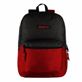 Harga Hawk 4897 Backpack (Charcoal/Red-Textured)