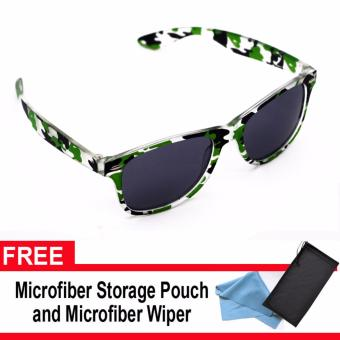 Iwear Collection 229 Sunglasses Camouflage (Green) with pouch and wiper Price Philippines