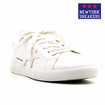Harga New York Sneakers Alastair Rubber Shoes(WHITE)
