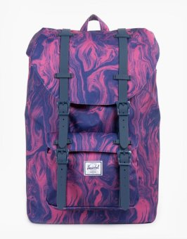 Little America Backpack (Red Marble) Price Philippines