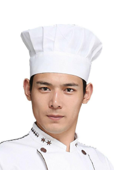 BUYINCOINS Adult Elastic White Chef Hat Baker BBQ Kitchen Cooking Hat Costume Cap One Size Price Philippines