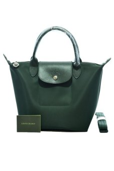 Longchamp Le Pliage Neo Small Short-Handle Bag (Moss Green) Price Philippines