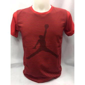 Harga Jordan Logo with pin stripes t-shirt adult Large