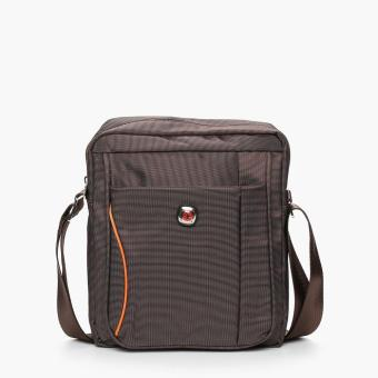 Harga Salvatore Mann Brink Sling Bag (Brown)