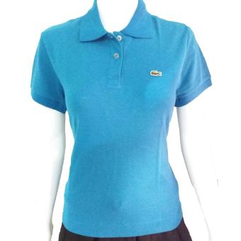 Lacoste Classic Women's Polo Shirt in Cyan Price Philippines