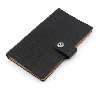 eMylo PU Business Card Credit Card Multi Card Book Holder for 300 Cards (Black) Price Philippines