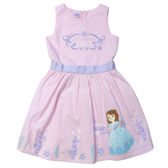 Disney Sofia The First Sleeveless Dress (Pink) Price Philippines