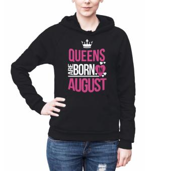 Harga Birth Month Hoodies for Women - August (black)