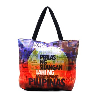 Harga London Fashion Perlas ng Silangan Tote Bag (Black)