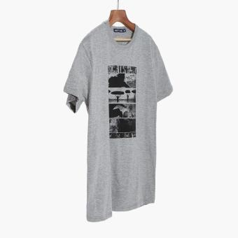 Harga Men's Club Mens Graphic Tee (Grey)