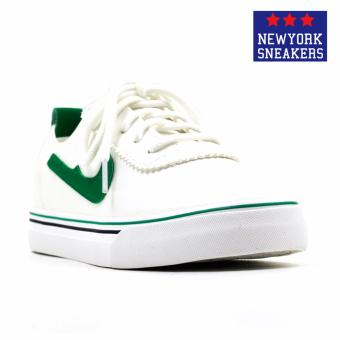 Harga New York Sneakers Hattie Low Cut Shoes(WHITE/GREEN)