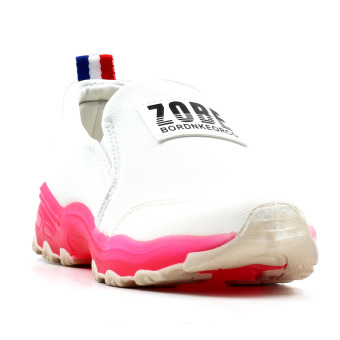 Harga New York Sneakers Zobe Slip On Shoes(White/Pink)