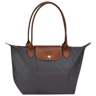 Longchamp Le Pliage Nylon Small Tote Long Handle Tote Bag, SLH Graphite Price Philippines