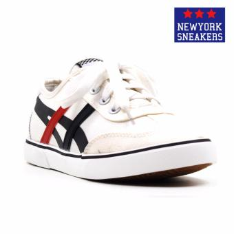 Harga New York Sneakers Avriella Low Cut Shoes(WHITE,BLACK,RED)