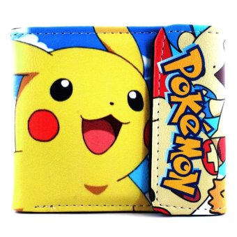ANIME ZONE POKEMON Super Delightful Pikachu Colorful Trendy Printed Trainer Wallet Price Philippines