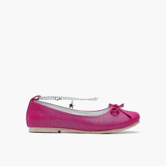 Harga Sugar Kids Girls Cyrilla Ankle-strap Flats (Dark Pink)