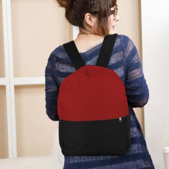 Treeco Canvas Sul Ross Collection Backpack (Red/Black) Price Philippines