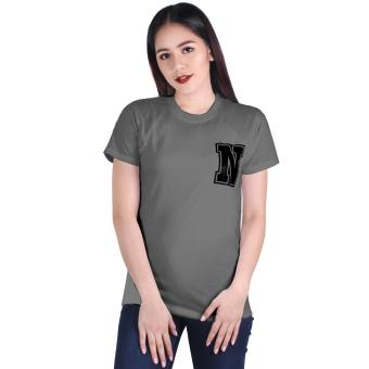 Cotton Republic Your Initial - Letter N (Grey) Price Philippines