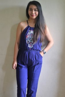 Harga Dion and Mary Jumpsuit (Blue)
