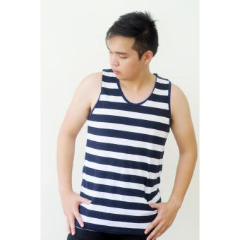Artweark Striped Sando (Blue) Price Philippines