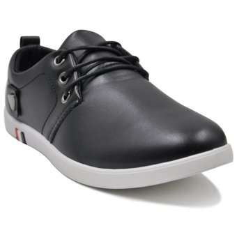 Harga Tanggo Dave Fashion Shoes Rubber Shoes for Men (black)