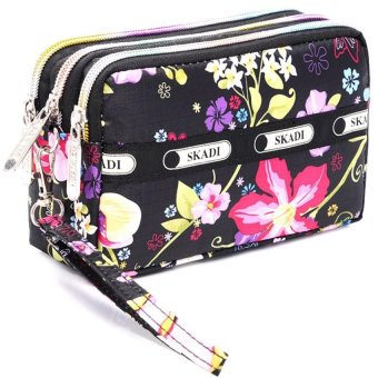 Harga Pilot 2016 New Arrival Skadi 610 Mini Shoulder Bag Siling Bag (Watercolor Flower)