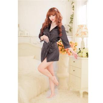 Harga Skadi Hot Girl A-201 Women Girlfriend Wife One Pieces Sweet Romantic Sexy Lady Lingerie Baby Doll Dress See-through Lace Sleepwear Night Gown Wedding Birthday Best Gift (Black)FREE Mini Make Up Mirror