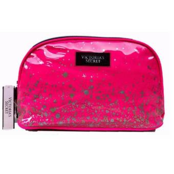 Harga Victoria's Secret Cosmetic Pouch (Hot Pink)