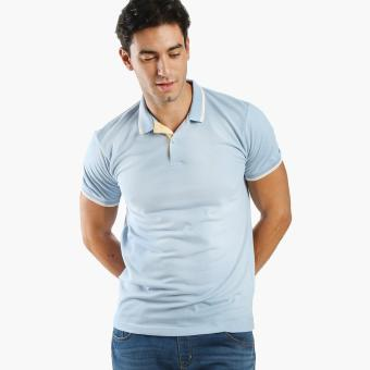 Men's Club Mens Pique Polo Shirt (Blue) Price Philippines