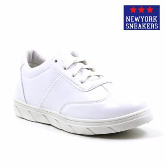 Harga New York Sneakers Phyllis Rubber Shoes(WHITE)