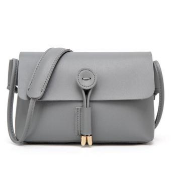 QF Korean Fashion Mini Leather Sling Bag (GRAY) Price Philippines