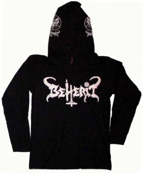 Harga Beherit Metal Hoodies (Black)