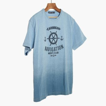 Harga Men's Club Mens Graphic Tee (Blue)